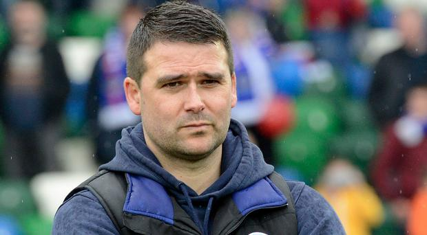 Gut-wrenching: Linfield manager David Healy