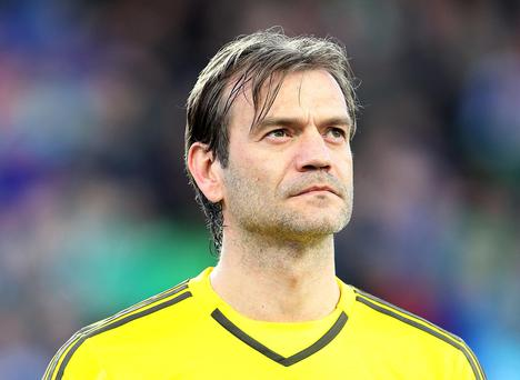 Move: Roy Carroll has joined Linfield