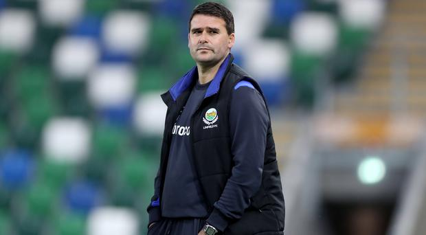 Clear aim: David Healy wants his first trophy as Blues boss