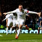 Leading man: Wayne Rooney will wear the armband under Sam Allardyce