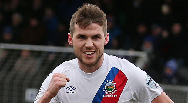 Stakes are high: Linfield's Stephen Lowry