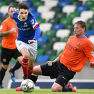 Young gun: Paul Smyth wants to make it in the professional game