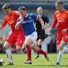 Ready to go: Jamie Mulgrew says Linfield will not change their approach to tomorrow's game