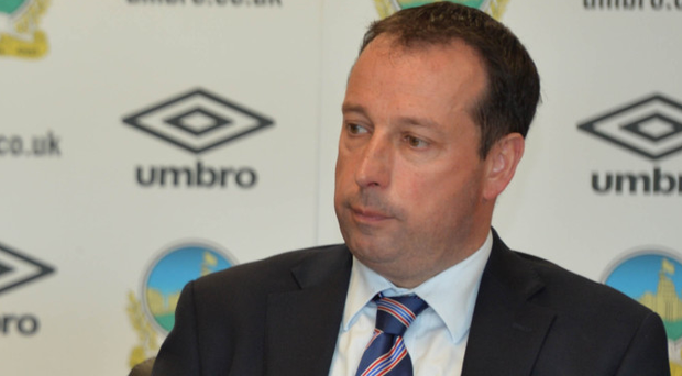 Jackpot: Roy McGivern says the draw is huge for Linfield