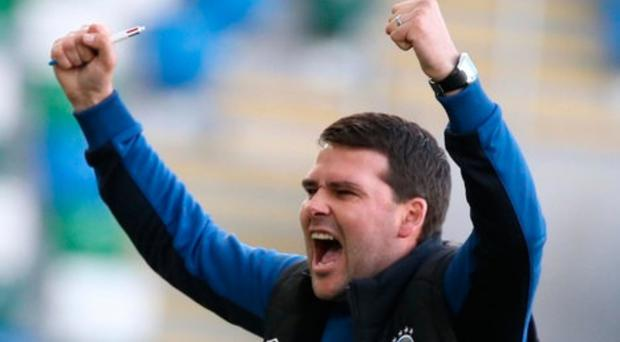 On alert: Blues' David Healy