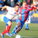 Raring to go: Jamie Mulgrew insists he will relish the atmosphere against Cliftonville at Solitude as Linfield aim to hit the heights of last season