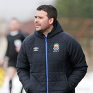 Optimistic: David Healy is targeting Irish Cup success and a surge up the table