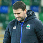 It was a disappointing day at the office for David Healy's men.