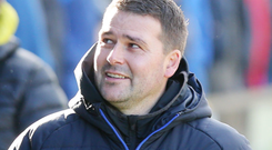 Full confidence: David Healy believes in his Linfield players