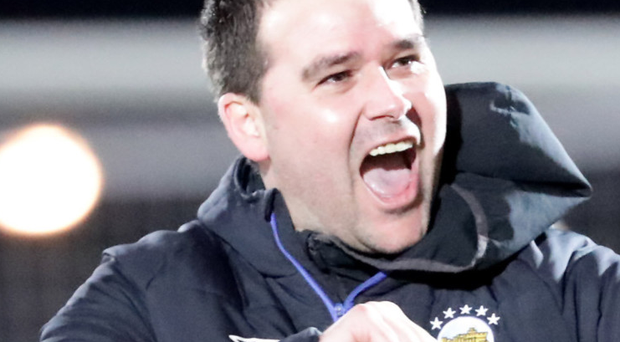 Tunnel vision: David Healy is focused on the league