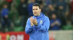 Happy manager: David Healy
