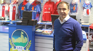 Open mind: Pat Fenlon and Linfield will consider all possibilities