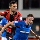 Response needed: Jamie Mulgrew is keen to bite back after Linfield's nightmare 6-0 loss to Dundalk
