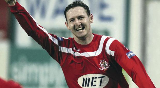 Gary Twigg needs to step up and deliver the goods for Portadown this season
