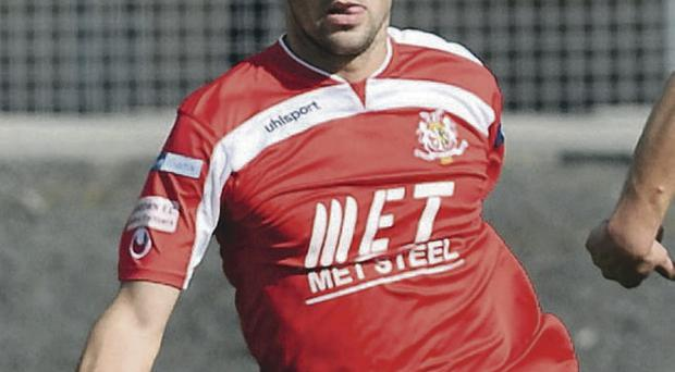 Portadown's Neil McCafferty