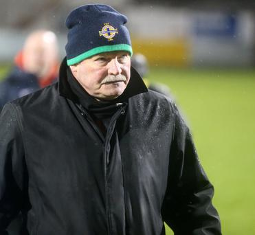 Stifled: Financial restrictions will prevent manager Ronnie McFall from strengthening his squad during this month's transfer window