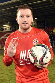 Mark McAllister of Portadown