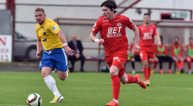 Registration row: Portadown were found to have paid Peter McMahon while he was registered as an amateur