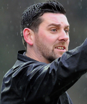 Bring it on: Dean Smith says Loughgall will give it their all