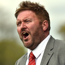 Portadown boss Niall Currie has endured a tough start to the season.