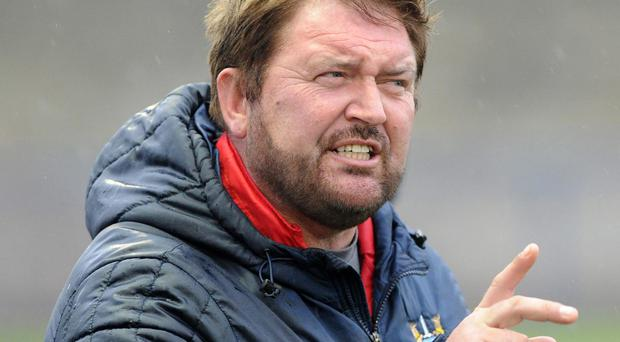 Ards manager Niall Currie
