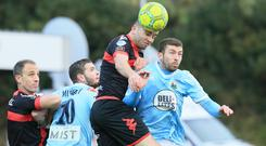 Warrenpoint and Crusaders are due to clash tomorrow