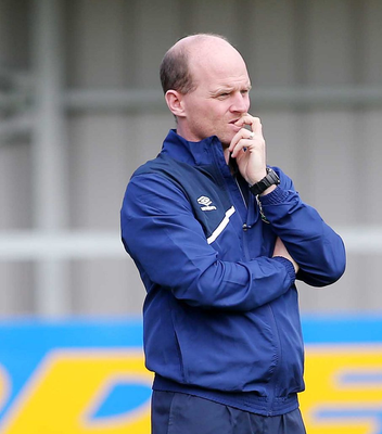 I'm still the man: Barry Gray wants to stay at Warrenpoint