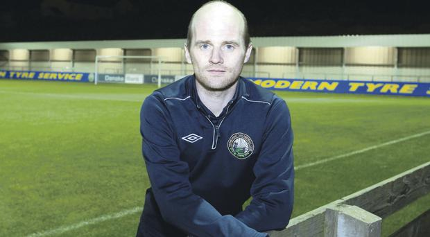Warrenpoint Town boss Barry Gray will take his team on the long trip to Coleraine today