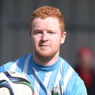 Up for it: Warrenpoint Town captain Stephen Moan