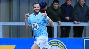 Hitting form: Darren Murray has flourished at Warrenpoint and is on his way to Crusaders