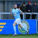 Hitting form: Darren Murray has flourished at Warrenpoint and could be on his way to Crusaders
