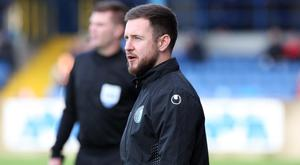 Full focus: Stephen McDonnell is demanding all three points