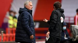 Mourinho believes officials should explain their decisions (Oli Scarff/NMC Pool/PA)
