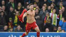 Adam Lallana was thrilled to shake off a knock to earn Liverpool a last-gasp 5-4 win at Norwich