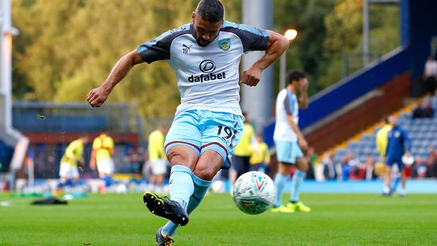 Jonathan Walters has not had much game time at Burnley
