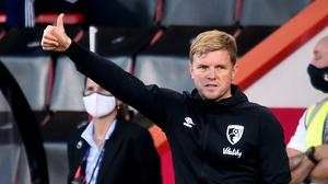 Eddie Howe was delighted with victory over Leicester (Glyn Kirk/NMC Pool)