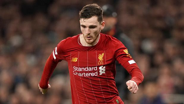 Andy Robertson insists title talk is for pundits and fans (John Walton/PA)