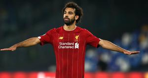 Mo Salah was among the scorers in Liverpool's rout of Crystal Palace (Tim Goode/PA)