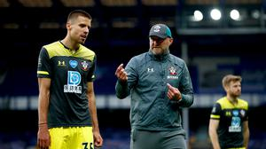 Ralph Hasenhuttl, right, has talked up the fitness levels of his Southampton team since the resumption of football (Clive Brunskill/NMC Pool/PA)