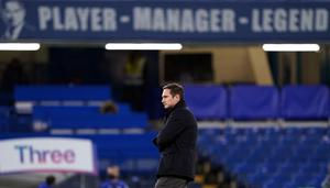 Chelsea great Frank Lampard was sacked as manager on Monday (John Walton/PA)