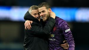 Ole Gunnar Solskjaer is facing increased questioning about David De Gea (Mike Egerton/PA)