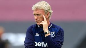 David Moyes' West Ham are 16th in the Premier League (Adam Davy/NMC Pool/PA)