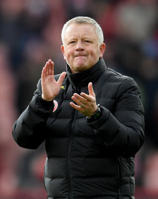 Belief: Chris Wilder feels the season can continue on