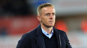 Garry Monk was again unhappy with refereeing decisions