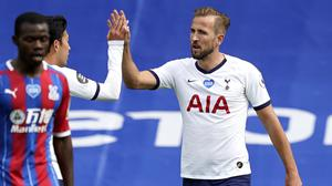Harry Kane put Spurs ahead at Selhurst Park (Will Oliver/PA)