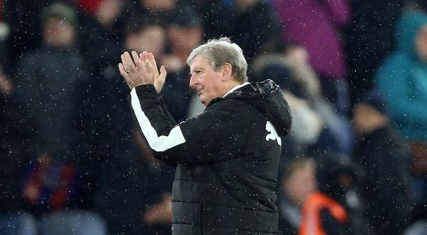 Crystal Palace manager Roy Hodgson has called for reinforcements in the January transfer window (Nigel French/PA)