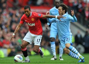Manchester United were unable to hold back rampant Silva in 2011 (Martin Rickett/PA)