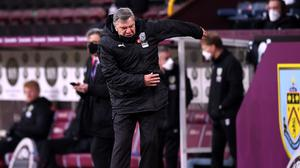 Sam Allardyce lamented the missed opportunities at Burnley (Gareth Copley/PA)