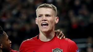 Scott McTominay has signed a new deal with Manchester United (Martin Rickett/PA)