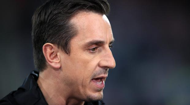 Gary Neville spent less than four months in charge at Spanish club Valencia (John Walton/PA)